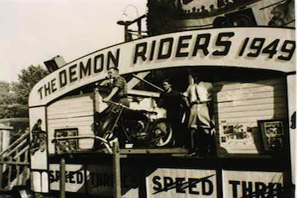 demon riders 1949 - demon drome the wall of death